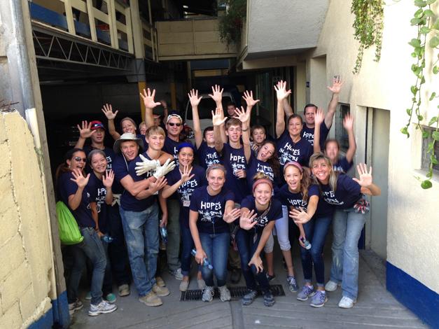 Barrington Potter's House Volunteers in Guatemala