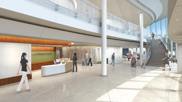 Advocate Good Shepherd Hospital Modernization Rendering