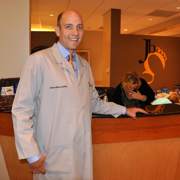 Barrington Podiatrist Dr. James Baird