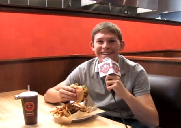 """Good Eats with Gaul"" host Alex Gaul Profiles Meatheads Burgers in Barrington"