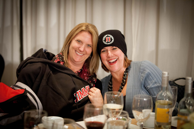 Amy Graves wins Free Jimmy Johns for a Year - Photographed by Liz Benedetto for Barrington Junior Women's Club
