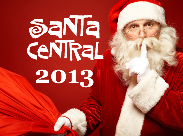 Stay Tuned for Santa Central, 2013 - Our Annual Guide to Finding Santa in & Around Barrington, Illinois