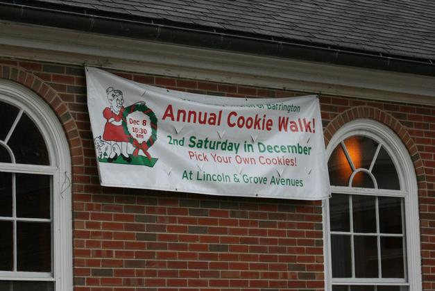 Community Church of Barrington Annual Cookie Walk at 407 S. Grove Avenue