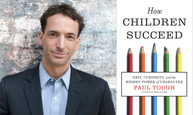 See Paul Tough at Barrington High School on Tuesday, February 4th at 1 p.m.