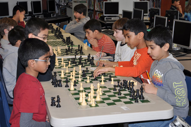Chess Without Borders Tournament at Hough Street Elementary School - Photographed by Liz Luby