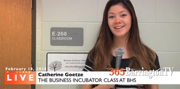56. 365BarringtonTV: Business Concepts Crystallize in the BHS Start-Up Incubator