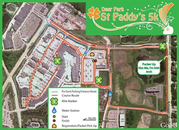Deer Park st. Paddy's 5k Run/Walk