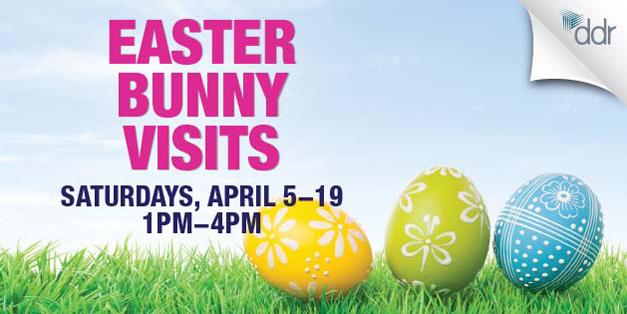 Easter Bunny Returns to Deer Park Town Center