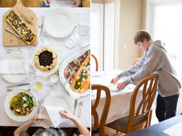 Heinen's Sunday Supper - The Roeckell Family - Photographed by Sally Roeckell