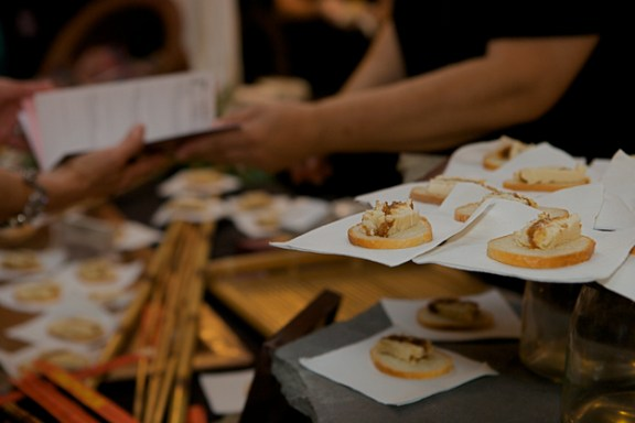 On Occasion Catering's Fig and Mascarpone Torte - Photographed by Julie Linnekin