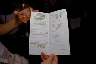 Uncork Barrington 2013 Wine Tasting Passport - Photographed by Julie Linnekin