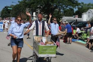 Post - Barrington 4th of July 2014 Parade - Bob Lee - 47