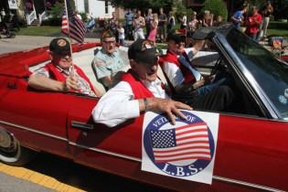 Post - Barrington 4th of July 2014 Parade - Bob Lee - 85
