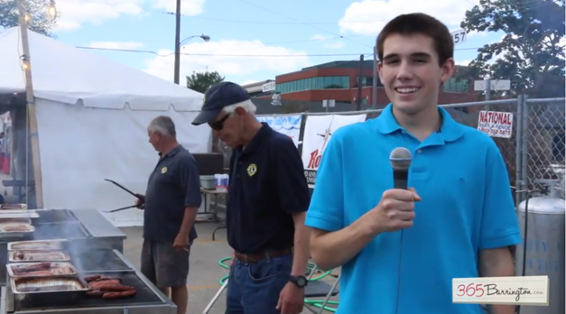 James Owen Reports from the Barrington 4th of July Brat Tent