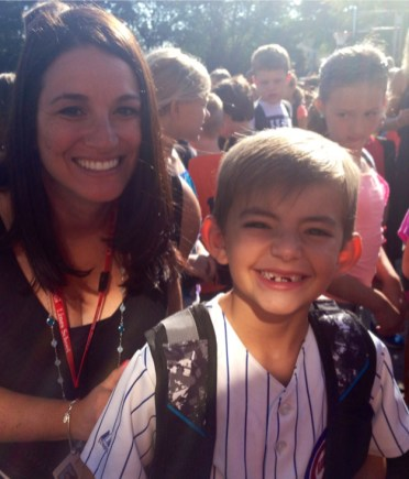 Quentin Muhs Starts 3rd Grade at Lines - Submitted by Mom, Doreen Colletti Muhs