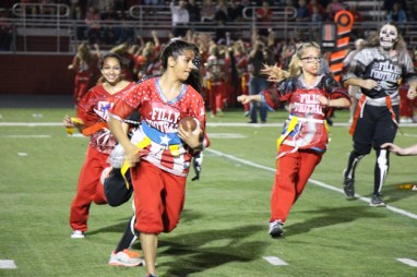 Post - Filly Football Powder Puff Homecoming Game - 117