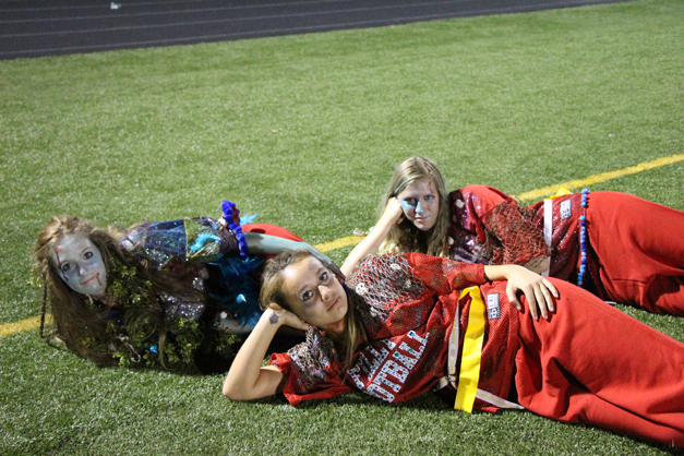 Post - Filly Football Powder Puff Homecoming Game - 140