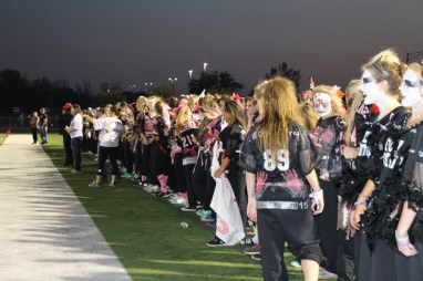 Post - Filly Football Powder Puff Homecoming Game - 19
