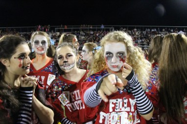 Post - Filly Football Powder Puff Homecoming Game - 83
