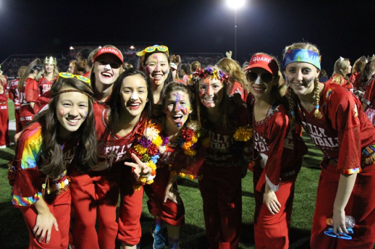 Post - Filly Football Powder Puff Homecoming Game - 86