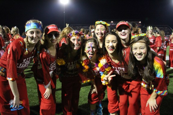 Post - Filly Football Powder Puff Homecoming Game - 87