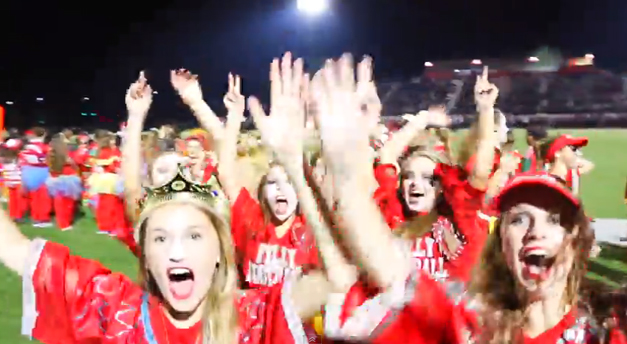Seniors Win the 2014 Homecoming Filly Football Game
