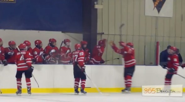 Post - Barrington High School Hockey Defeats Glenbrook North in BHS Game of the Week - 11