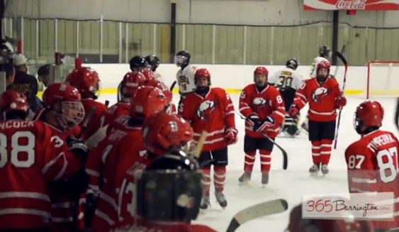 Post - Barrington High School Hockey Defeats Glenbrook North in BHS Game of the Week - 13