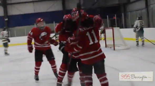 Post - Barrington High School Hockey Defeats Glenbrook North in BHS Game of the Week - 8