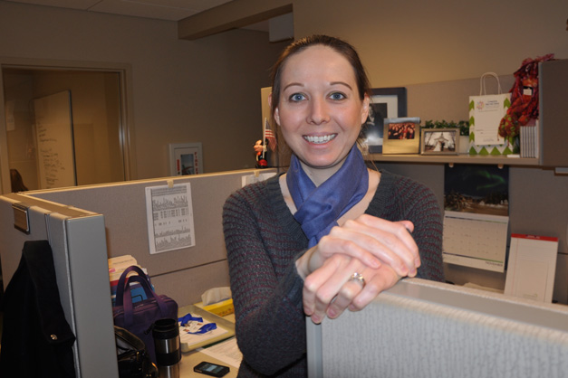 Amy O'Donnell, JourneyCare's Volunteer Coordinator - Photo by Liz Luby