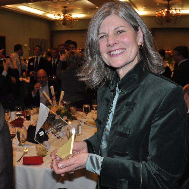 Barrington Area Chamber of Commerce 2015 Business Award Winner, Deborah Leydig of Nortons U.S.A.