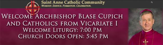 Post - St. Anne Catholic Community