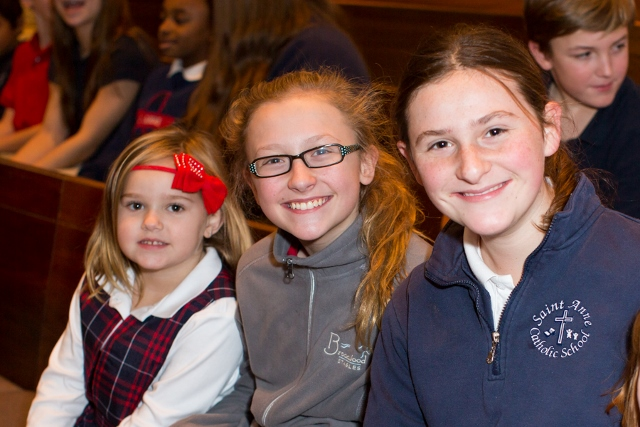 St. Anne School Students - Photographed by Sally Roeckell