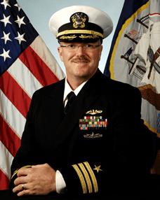 USS Illinois Captain Jeff Porter