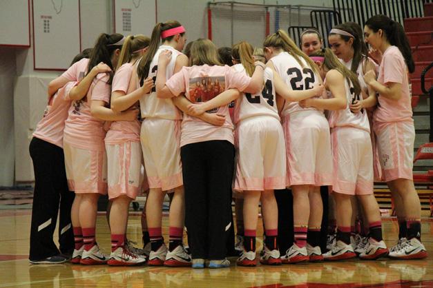 BHS Girls Basketball Senior Night - Photo by Gus Goetze
