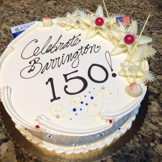 Post - Barrington Sesquicentennial Birthday Cake