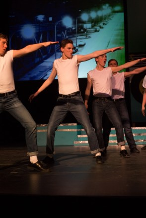 GREASE Opens at BHS - Photo by Sally Roeckell