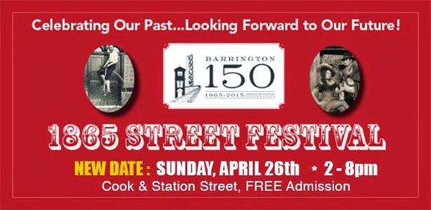 Post - 1865 Street Festival - Date Change