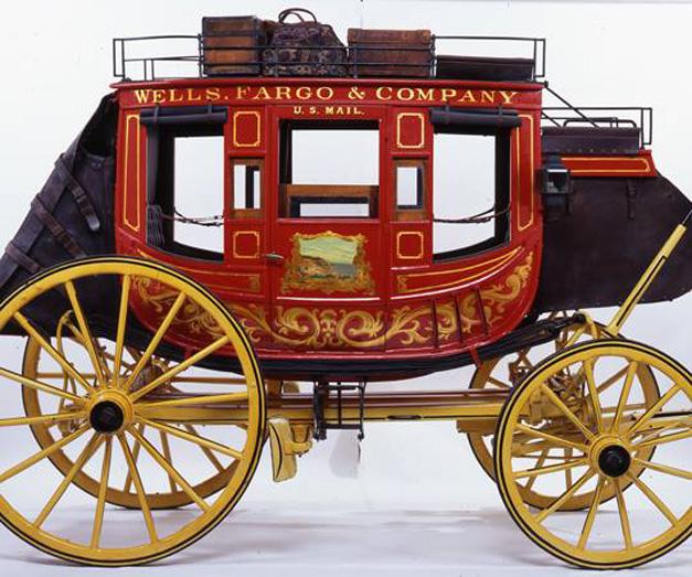 Post - Barrington History - Wells Fargo Stagecoach