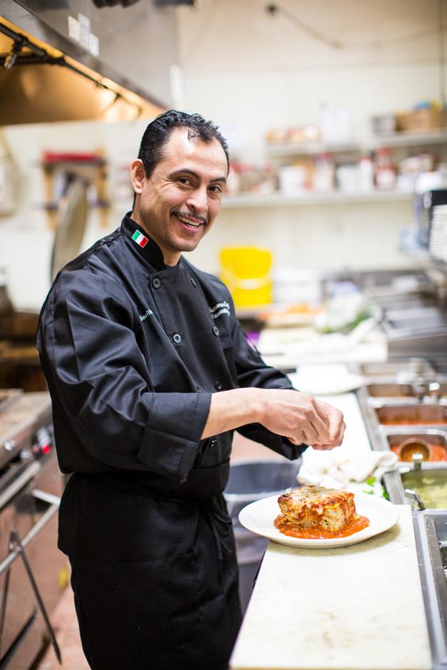 Executive Chef Gumaro Castillo - Photo by Sally Roeckell