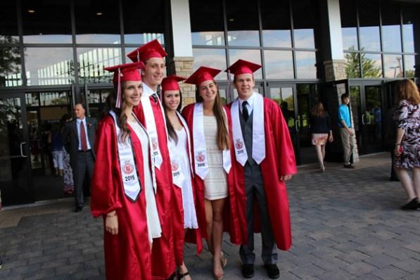 Post - Barrington High School Graduation - 14