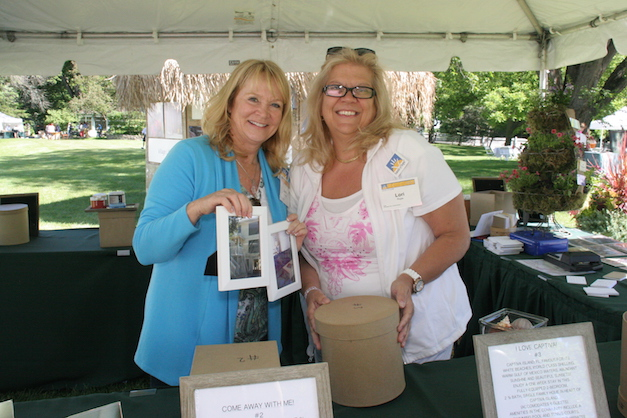 Barrington Country Garden & Antique Faire Raffle - Photograph courtesy of Laura Scoville Ekstrom