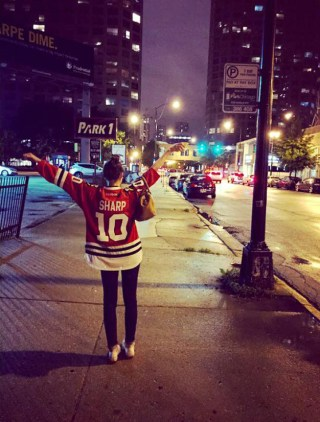 Post - Biggest Hawks Fan - Pam Zweig - 2