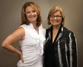 Nancie Tobison and Ellen Werksman