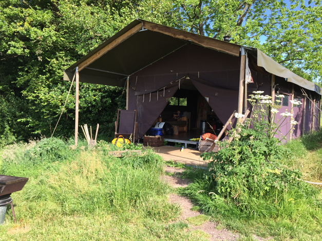 The Gentleman Farmer's Family Goes Glamping