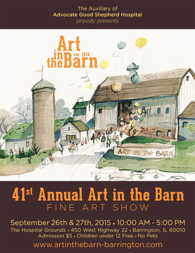 Post - Art in the Barn 2015