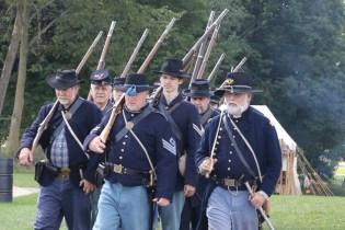 Post - Barrington Sesquicentennial Civil War Reenactment-104