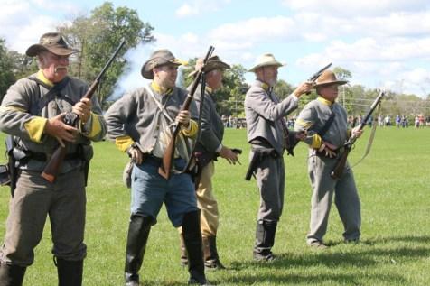 Post - Barrington Sesquicentennial Civil War Reenactment-110