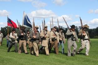 Post - Barrington Sesquicentennial Civil War Reenactment-112