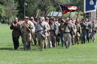 Post - Barrington Sesquicentennial Civil War Reenactment-118